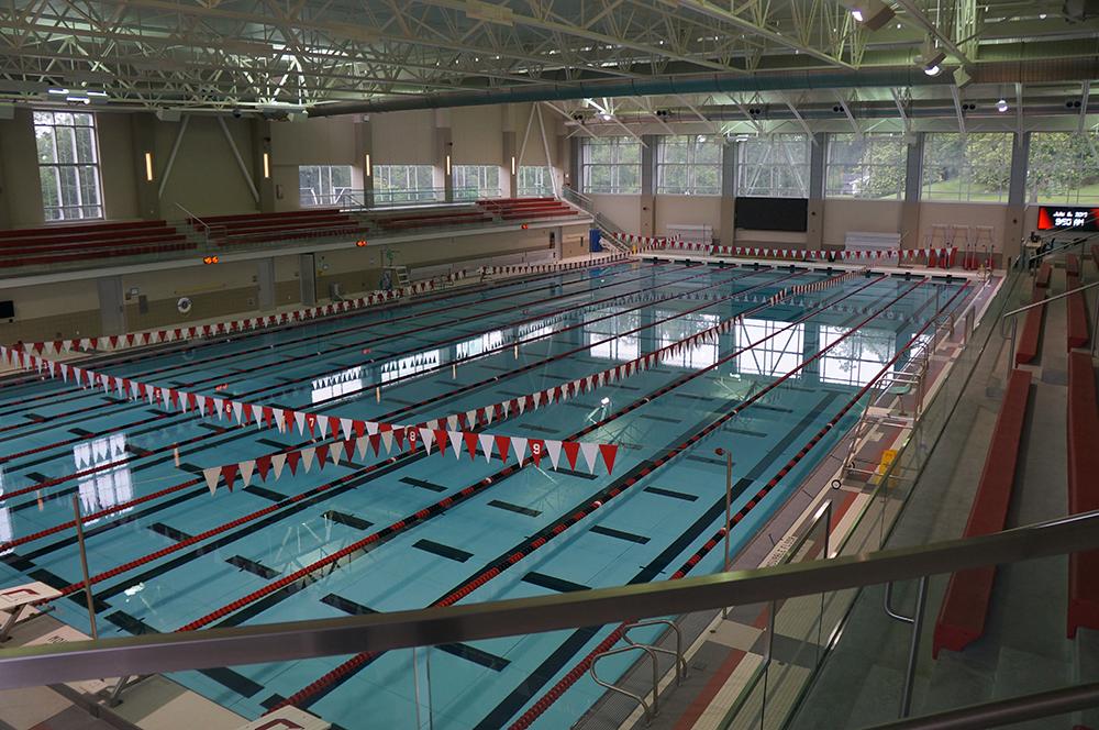 Competition Pool Construction : Denison university competition pool granville ohio