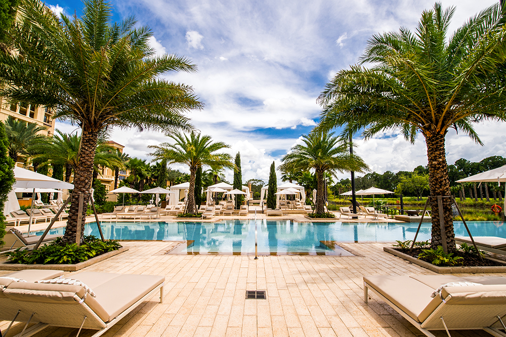 Four seasons resort orlando florida commercial pool for Pool design orlando florida