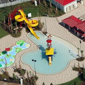 Lake Eva Park Aquatic Center Haines City Florida Commercial Pool Construction Aquatic