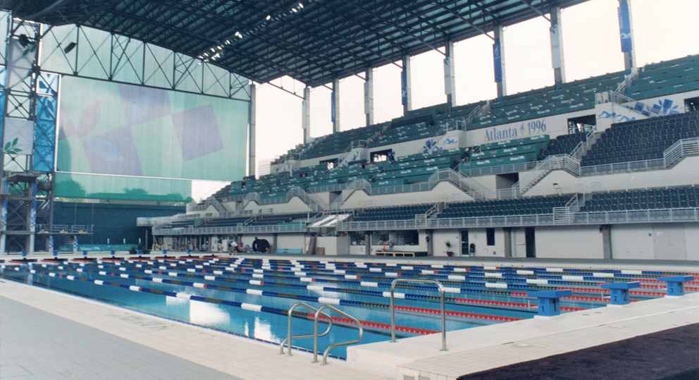1996 Atlanta Olympic pool builders
